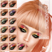 Oceane - Fat Pack Glamorama Eyeshadows (13x)