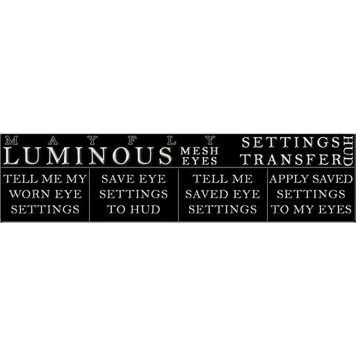 Mayfly - Luminous - Free Eye Settings Transfer HUD/Tool
