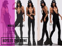 BOYS TO THE BONE - model poses #1