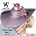 Wicca's Wardrobe - Teatime Hat [Purple] [BOXED]