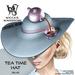 Wicca's wardrobe   tea time hat %28blue%29 vendor