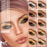 Oceane - Fat Pack Dare METALS Eyeshadows (10 x)