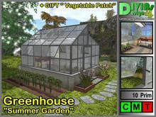"Greenhouse ""Summer Flower"""