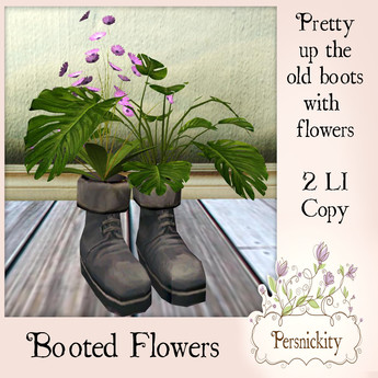 Booted Flowers