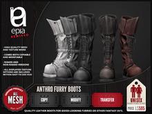 (epia) - Anthro Furry Boots