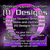 Omega System Kit for (11) Eleven Designs