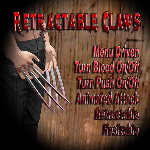 Retractable Claws