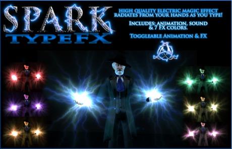 SPARK - TypeFX Override - Amaze as you type!