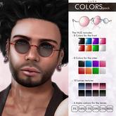 YUKO // Lennon's Sunglasses / Colors Pack (MESH) - Unisex