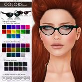 YUKO // Pointy Sunglasses / Colors Pack (MESH)