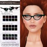 YUKO // Pointy Sunglasses / Tortoiseshell Pack (MESH)