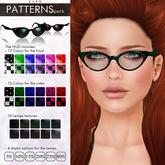 YUKO // Pointy Sunglasses / Patterns Pack (MESH)
