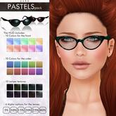 YUKO // Pointy Sunglasses / Pastels Pack (MESH)