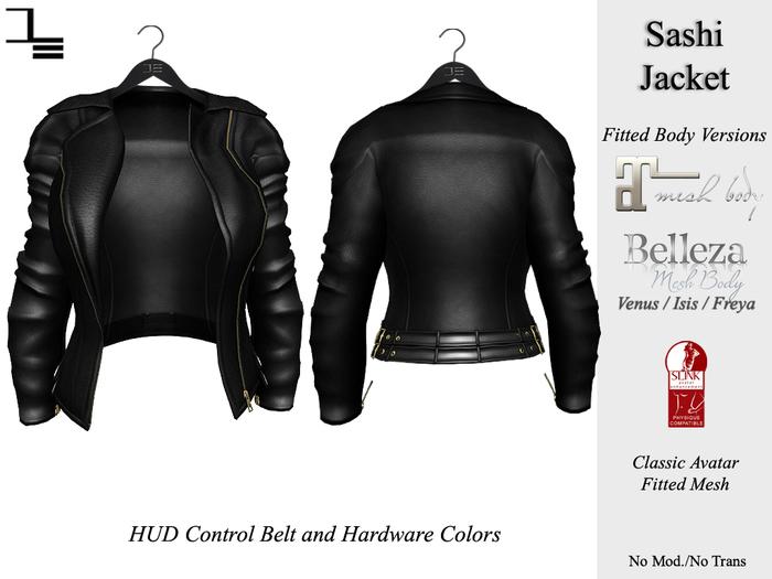 DE Designs - Sashi Jacket - Black