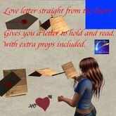 Love letter giver