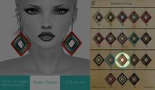 GACHA SPARES: Shakeup - Snakeskin Earrings - 13