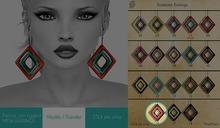 GACHA SPARES: Shakeup - Snakeskin Earrings - 16