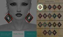 GACHA SPARES: Shakeup - Snakeskin Earrings - 1