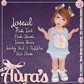 {Aura's} Loreal Kawaii Outfit {Blue} for Toddleedoo Avatars