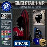 ER SingleTail Hair 'Strand'