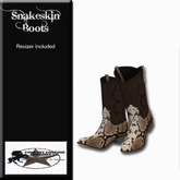 Country Couture Snakeskin Boots