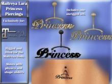 Exclusive for Maitreya Lara - Princess Navel Piercing