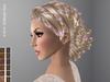 FaiRodis Dahlia hair MESH light shaten+hair decoration