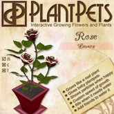 PlantPet Seed [Rose *Lovers*] LIMITED