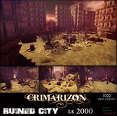 CRIMARIZON *Ruined City*