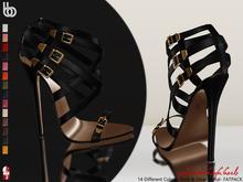 Bens Boutique - Yolande High Heels (Slink High) Fatpack