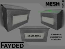 FAYDED - Wall Mailbox