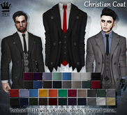 [Syn] Christian Coat (Texture HUD, Fitted Mesh, Materials enabled)