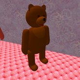 Teddy Bear Neko (only 4 prims)