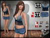 Liliai shorts jeans shorts slink physique slink high feet jeans top