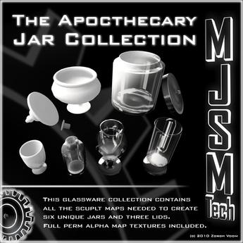 MJSMTech - Apothecary Jar Collection Builder Kit