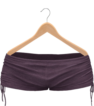 Blueberry Elina Shorts - Maitreya / Belleza / Slink - Purple