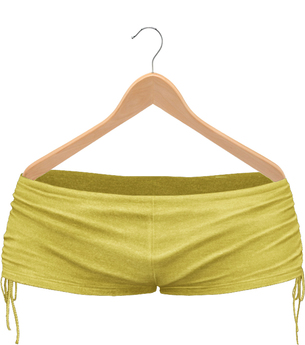 Blueberry Elina Shorts - Maitreya / Belleza / Slink - Yellow