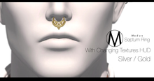 { Modus } Septum Ring Silver / Gold