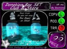 ** Club & Store ** Donation Box Set **