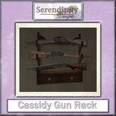 Serendipity Designs - Cassidy Gun Rack (boxed)