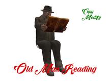 AL - Old Man Reading