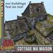Cottage MA MAISON FULL PERM MESH, medieval cottage textured full permissions
