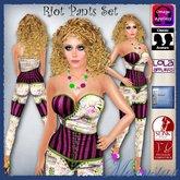 Riot Pants Set by Moonstar T