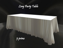 Party Long Table *Copy!!