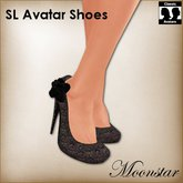 Black Magic SL Avatar Shoes by Moonstar T