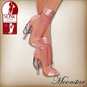 Coralie Slink High Shoes by Moonstar T