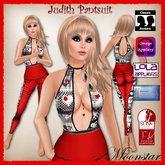 Judith Pantsuit and Necklace by Moonstarh pantsuit T