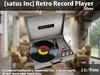 [satus Inc] Retro Record Player - Silver ~ 2 LI/Prims