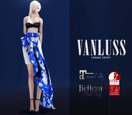VANLUSS - Joana Skirt Blue