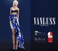 VANLUSS - Joana Skirt Navy